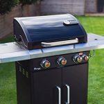 LANDMANN Rexon PTS 3.1 Barbecue à gaz, Noir, 135 x 120 x 52 cm de la marque LANDMANN image 1 produit