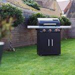 LANDMANN Rexon PTS 3.1 Barbecue à gaz, Noir, 135 x 120 x 52 cm de la marque LANDMANN image 3 produit