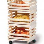 Links 60100400 - Etagère Cagettes en Bois empilables pour fruits - 30 x 37 x 80 cm de la marque Links image 5 produit