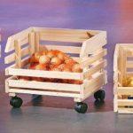 Links 60100400 - Etagère Cagettes en Bois empilables pour fruits - 30 x 37 x 80 cm de la marque Links image 2 produit