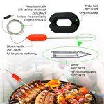 Lnkey Bluetooth Sans Fil Thermomètre avec 2 Sonde, Thermomètres pour barbecue appli viande Thermomètre Four, BBQ, Cuisine Cuisson Viande rôti pour Android + iOS de la marque Lnkey image 4 produit
