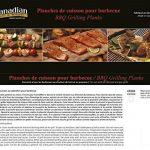 Lot de 2 planches à fumer barbecue : bois de cèdre pour cuisson / fumage - 40,5cm x 17,5cm x 1,30cm - (livraison gratuite) de la marque Canadian Pure and Simple image 1 produit