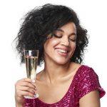 Lot de 48 flûtes à champagne jetables - parfait pour des fêtes de Noël, mariages, célébrations de nouvelle année et des événements intérieurs et extérieur de la marque Matana image 3 produit
