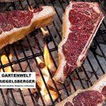 Manufacture de charbon Premium Briquettes pour barbecue fumée sans, durée de combustion jusqu'à 4,5heures, barbecue Brikett Briquettes Barbecue charbon de bois Fabriqué en Allemagne de jardin monde Verrou Berger 4x 5 kg de la marque Gartenwelt Riegelsber image 4 produit