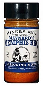 Maynards Memphis BBQ Seasoning and Rub. All Natural, No Msg, Low Sodium, No Preservatives. Huge Flavor for Smoked BBQ, Pulled Pork, Butts, and Baby Backs or Spare Ribs. The No Sauce Needed Rub de la marque image 0 produit