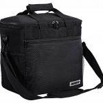 MIER 15L Grand sac à lunch isotherme pique-nique sac pour les hommes et les femmes (noir) de la marque MIER image 3 produit
