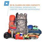 Mountaintop 40L Sac à Dos Mixte Pour Camping/Voyage/Randonnée 35 x 55 x 25 cm de la marque MOUNTAINTOP image 4 produit