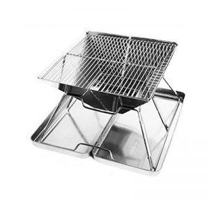 MQFORU Barbecue à Charbon Portable Pliable Pique-Nique avec Grille inox BBQ Extérieur de la marque MQFORU image 0 produit