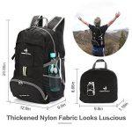 NEEKFOX Sac à dos de voyage à dos de voyage compact léger, sac à dos de camping pliable 35L, sac à dos de sport extérieur ultra-léger de la marque NEEKFOX image 1 produit