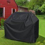 opamoo Housse Barbecue, Bache Barbecue Anti-UV Imperméable Barbecue Couverture Housse Bâche de Protection BBQ Couverture de Gril - 170*61*117cm, Noir de la marque opamoo image 1 produit