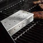 OUNONA Boîte Fumoir pour Barbecue en Acier Inoxydable (Argent) de la marque OUNONA image 1 produit