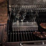 OUNONA Boîte Fumoir pour Barbecue en Acier Inoxydable (Argent) de la marque OUNONA image 3 produit