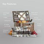panier vaisselle pique nique TOP 5 image 4 produit