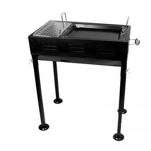 Picnic extérieur Portable Plaque d'acier au charbon Laminoir à froid Four barbecue BBQ Grill de la marque LBBQ image 0 produit