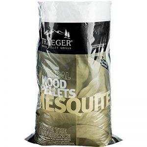 Porteur bois dur Pellets sac de Mesquite, 9kg de la marque Traeger image 0 produit