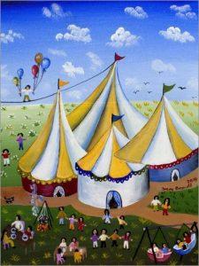 POSTERLOUNGE Alu Dibond 30 x 40 cm: la Fete de Irene Brandt de la marque POSTERLOUNGE image 0 produit
