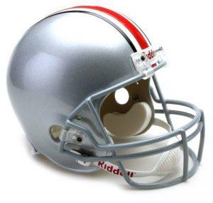 Riddell NCAA Ohio State Buckeyes Deluxe Réplique casque de football de la marque Riddell image 0 produit