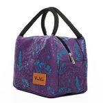 réutilisable isotherme Lunch Box Sac Portable et étanche Lunch Tote par Winmax violet de la marque Winmax image 1 produit