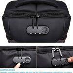 Sac à dos d'ordinateur portable d'anti-vol de Mupack sac d'ordinateur portable de 15,6 pouces avec 2 le sac à dos léger d'épaule de couverture de pluie pour des affaires / voyage / école / extérieur de la marque Mupack image 4 produit