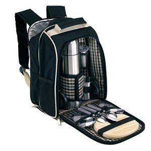 Sac à dos de pique-nique pour 2 personnes avec kühlfach sans couverture de pique-nique de la marque Unbekannt image 0 produit