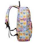 Sac à dos EMOJI, Gracosy Impémeable Super léger 35L Design Smiley Kawaii Backpack Cartable pour École Fille Garçon de la marque Gracosy image 1 produit