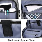 Sac à dos TREKOO pour ordinateur portable jusqu'à 15,6'' - Sac pour le campus, étudiants, sorites, voyages, randonnée - Avec une grande capacité et port USB de la marque Trekoo image 4 produit