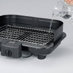 Severin 2791 - Barbecue de table XXL - 2500 W - pare-vent amovible - thermostat - noir de la marque Severin image 3 produit