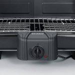Severin 2791 - Barbecue de table XXL - 2500 W - pare-vent amovible - thermostat - noir de la marque Severin image 4 produit