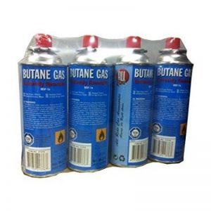 Sobazar - Lot de 4 Cartouches recharge gaz 227g MSF-1a de la marque Sobazar image 0 produit