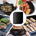 Tapis de barbecue | Feuilles de cuisson | set de 3 pièces | réutilisable | fabriqué en silicone avec teflon | 100% anti-adhésif | accessoires bbq de la marque Coninx® image 1 produit