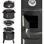 TecTake BBQ GRILL BARBECUE CHARBON DE BOIS FUMOIR SMOKER - diverses tailles au choix - (3en1 BBQ Fumeur / grill | No. 400820) de la marque TecTake image 3 produit