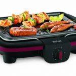 Tefal CB901O12 Barbecue Electrique Easy Grill Contact posable Noir/bordeaux Thermospot de la marque Tefal image 1 produit
