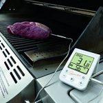 TFA Dostmann Chef de cuisine numérique Barbecue Thermomètre à viande avec rétroéclairage, plastique, blanc, 6,4x 2x 10cm de la marque TFA-Dostmann image 3 produit