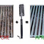 TTLIFE Brosse pour barbecue 3-en-1 inoxydable en acier- Long Manche - Brosse pour Grill - Meilleur outils de nettoyage 360°pour grille et barbecue au charbon de bois, gaz, porcelaine etc de la marque TTLIFE image 1 produit