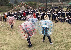 TTYY Bubble Ball Gonflable Fun Toys Concours Sport TPU Backyard Sport (Couleur Aléatoire) de la marque TTYY image 0 produit