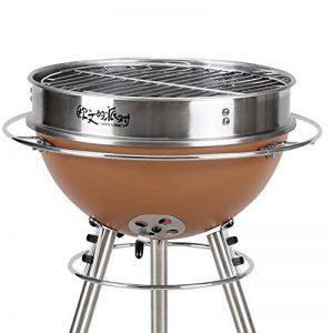 TY&WJ Barbecues à Charbon, Plein Air Maison Jardin Pliable Portable Bbq Barbecues Outil Pour Le Camping Party Hauteur Réglable - 31x31x71cm(12x12x28inch) de la marque TY&WJ image 0 produit