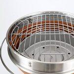 TY&WJ Barbecues à Charbon, Plein Air Maison Jardin Pliable Portable Bbq Barbecues Outil Pour Le Camping Party Hauteur Réglable - 31x31x71cm(12x12x28inch) de la marque TY&WJ image 1 produit