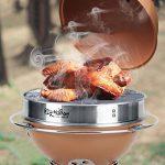 TY&WJ Barbecues à Charbon, Plein Air Maison Jardin Pliable Portable Bbq Barbecues Outil Pour Le Camping Party Hauteur Réglable - 31x31x71cm(12x12x28inch) de la marque TY&WJ image 2 produit