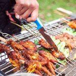 TY&WJ Plein air Acier inoxydable Barbecues à charbon, Maison jardin Grill Pliable Portable Barbecues Outil Pour Bbq Camping Cadeau-A 73*33*70cm de la marque TY&WJ image 2 produit