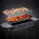 TY&WJ Pliable Barbecues à charbon,Portable Grill Plein air Repas en plein air Bbq Pour Camping Randonnée Barbecues Outil-A 66.5*30*70cm de la marque TY&WJ image 2 produit