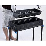 TY&WJ Pliable Barbecues à charbon,Portable Grill Plein air Repas en plein air Bbq Pour Camping Randonnée Barbecues Outil-A 66.5*30*70cm de la marque TY&WJ image 3 produit