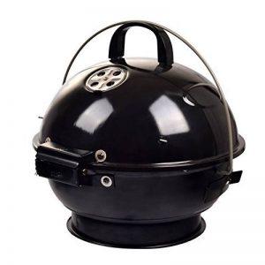 TY&WJ Portable Barbecues à charbon,Réglable Aéroport Grill Maison jardin Barbecues Pour Bbq Arrière-cour Hayon Parti Camping-noir 38x38cm(15x15inch) de la marque TY&WJ image 0 produit