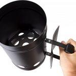 Valiant barbecue à charbon Cheminée de démarrage rapide (Fir550), Noir de la marque Valiant image 3 produit