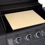 Vesuvo V45351 Pierre à pizza en cordiérite XXL pour gros grill, jusqu'à 1 000°C, 45x 35x 1,5cm de la marque Vesuvo image 1 produit