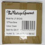 Vintage Gourmet® carré Pierre à pizza 305mm–30,5cm de côté–Corderite plaque à pâtisserie/pierre à pizza–pour four à pizza, barbecue ou barbecue de la marque Vintage Gourmet (TM) image 3 produit