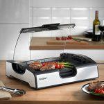 VonShef Barbecue de table électrique 1500W – Grill avec réglage de la température et plaques amovibles de la marque VonShef image 1 produit