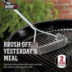 Weber 6493 Brosse en T pour Barbecue Charbon/Gaz/Électrique de la marque Weber image 1 produit