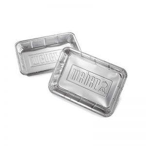 Weber barquettes en aluminium - 10 pieces de la marque Weber image 0 produit