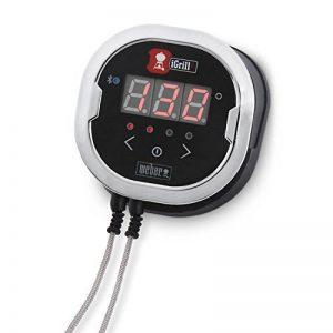Weber iGrill 2Thermomètre Bluetooth, Noir, 3.2x 10,8x 5cm, 7221 de la marque Weber image 0 produit