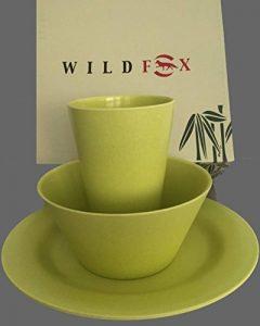 Wild Fox Bamboo Set de pique-nique Vert 2personnes de la marque Wildfox image 0 produit